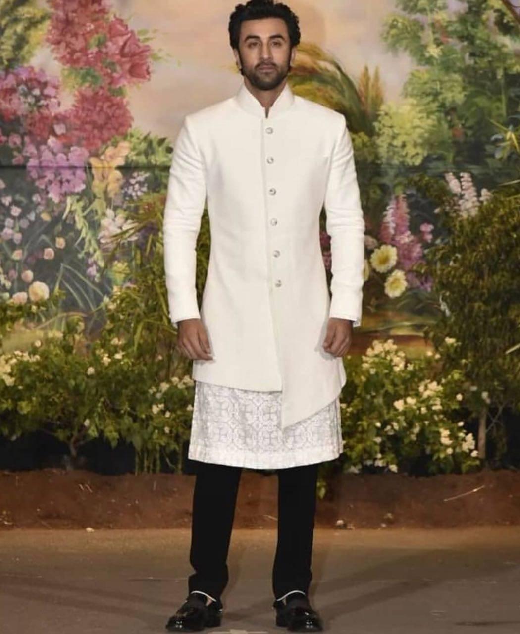 ranbir kapoor pic from Sonam Kapoor reception