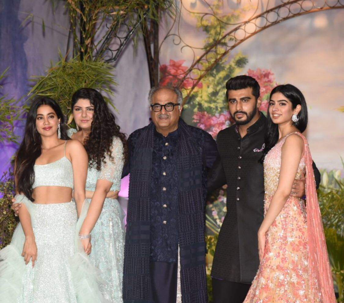 boney kapoor picture from Sonam Kapoor reception
