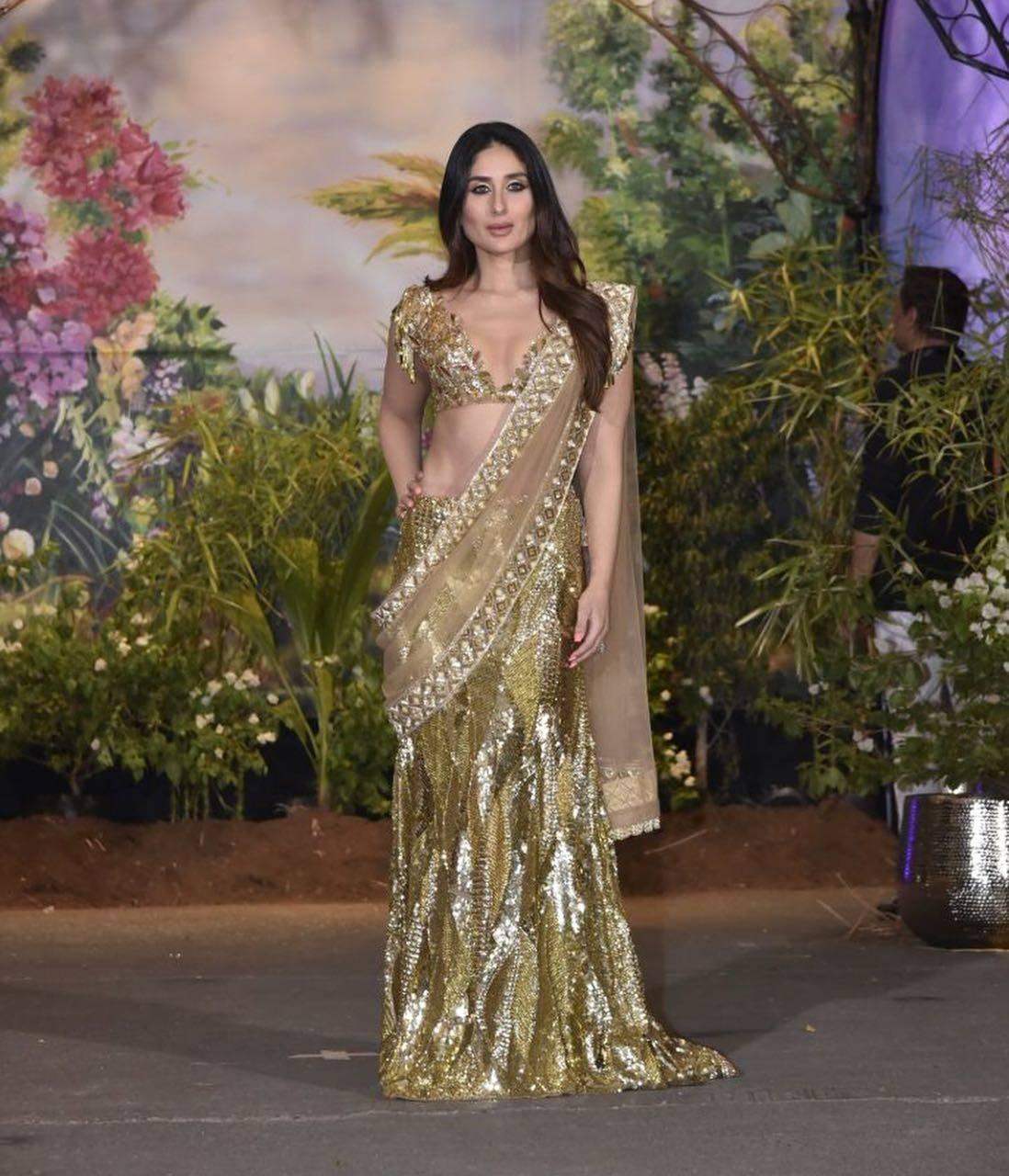 kareena kapoor khan at Sonam Kapoor-Anand Ahuja reception