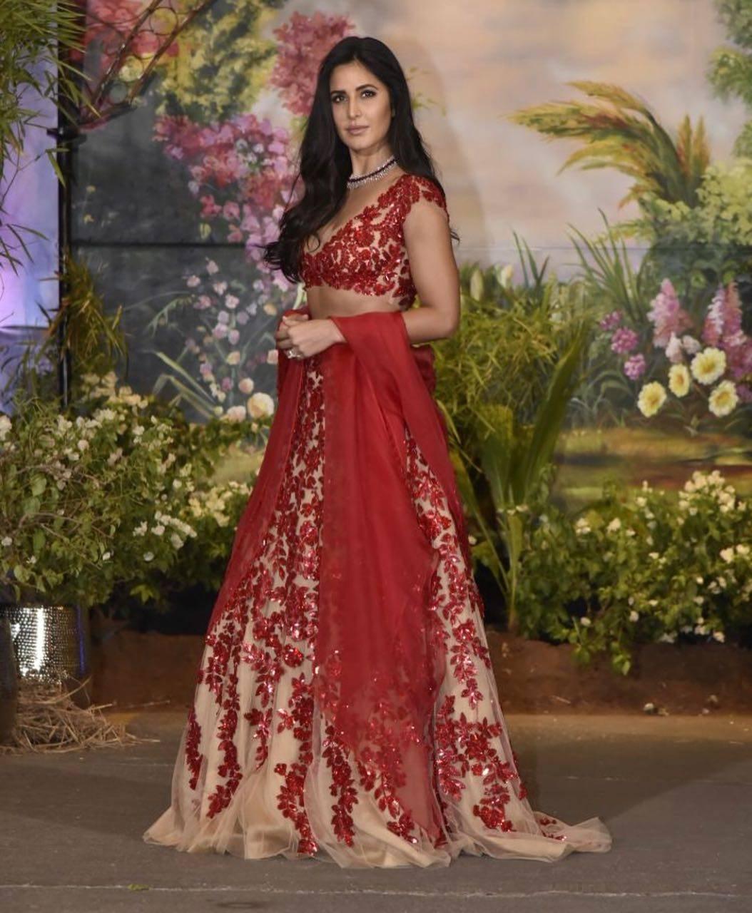 katrina kaif at Sonam Kapoor reception