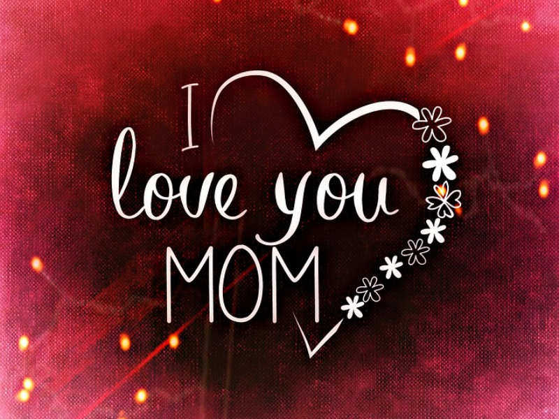 I love my mother image