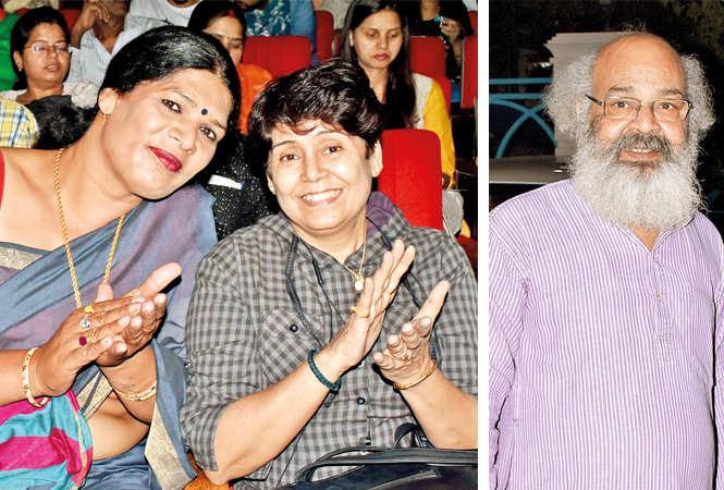 Payal Singh and Satya Singh Human (R) Surya Mohan (BCCL/ Vishnu Jaiswal)