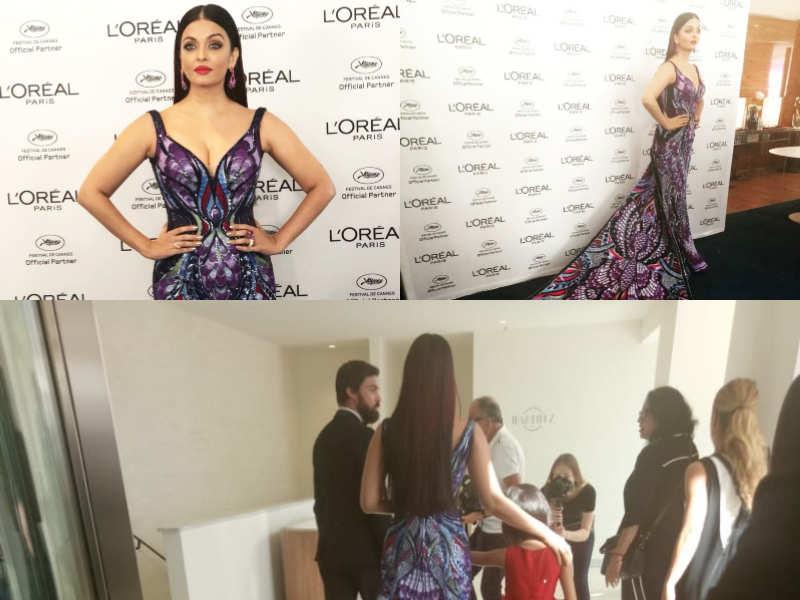 Cannes Film Festival 2018 Aishwarya Rai Bachchan Makes A Dramatic