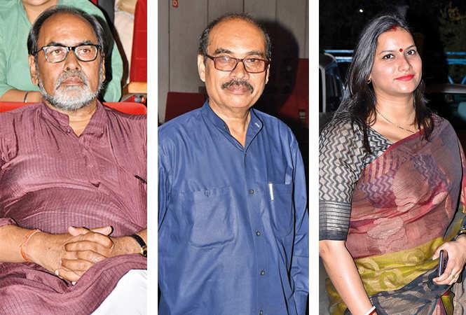 Gopal Sinha, Mohd Hafeez and Neha  (BCCL/ Vishnu Jaiswal)
