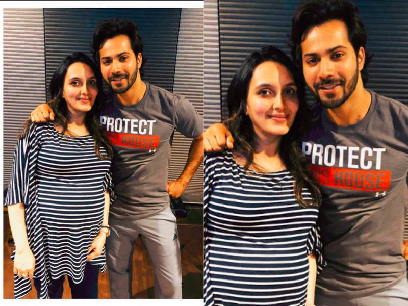 Varun Dhawan Shares A Cute Picture With His Sister In Law Jaanvi Dhawan