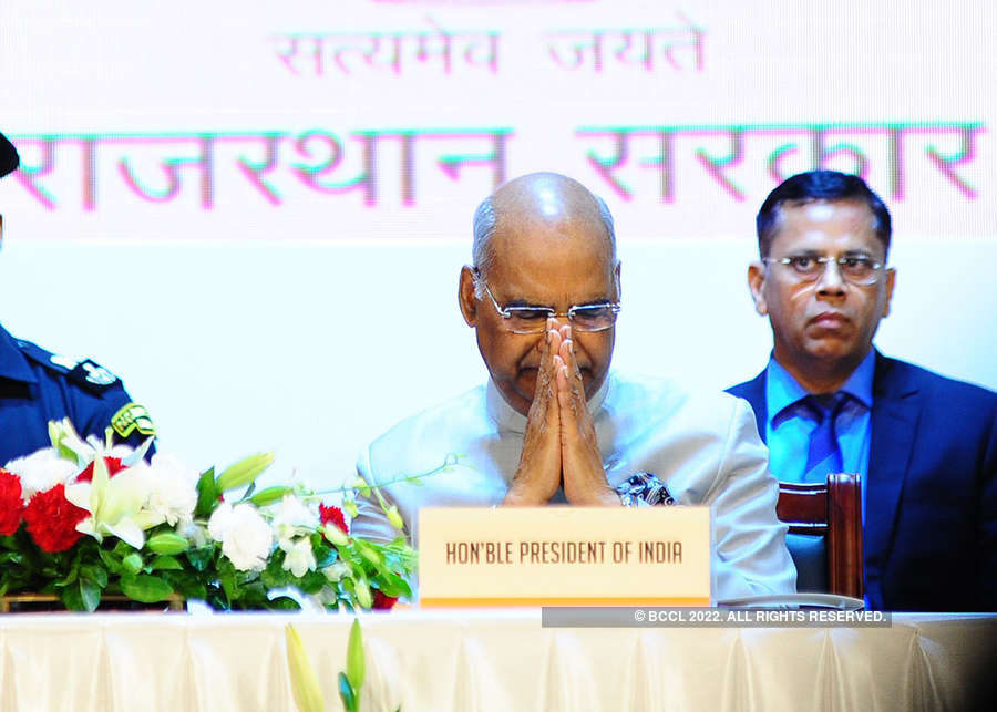 President Ram Nath Kovind launches welfare schemes in Rajasthan