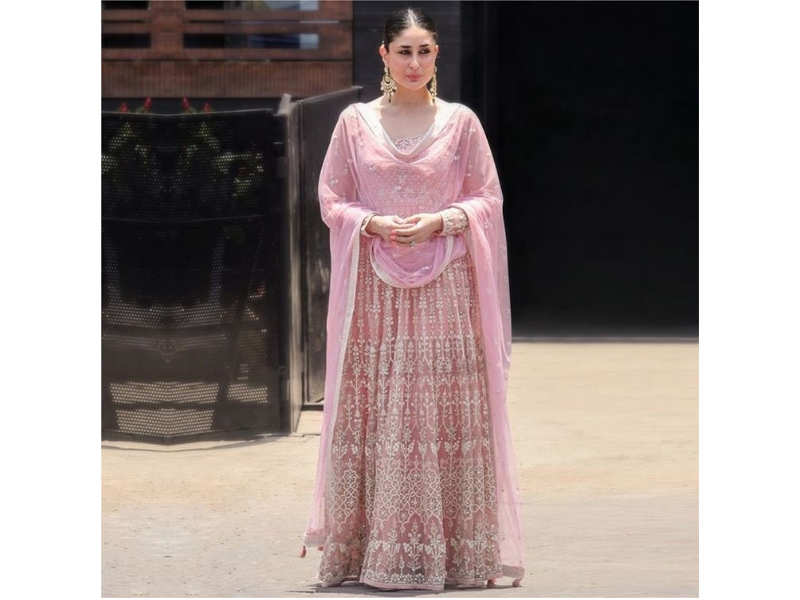 43f5a942ac26 B-Town divas are painting the fashion scene pink with her lehengas ...