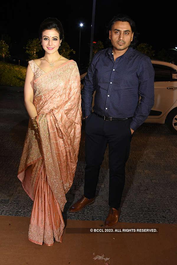 Raj Chakrabarty and Subhashree Ganguly's starry wedding reception