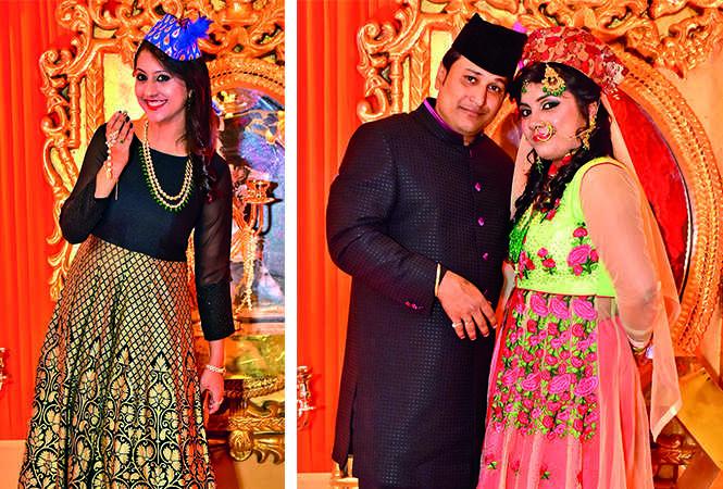 (L) Deepali (R) Jitendra and Ananta (BCCL/ AS Rathor)