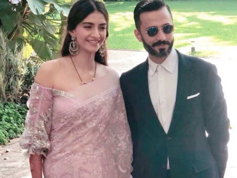 Sonam Kapoor on adopting Anand Ahuja's surname - Sonam Kapoor – Anand Ahuja's love story  | The Times of India