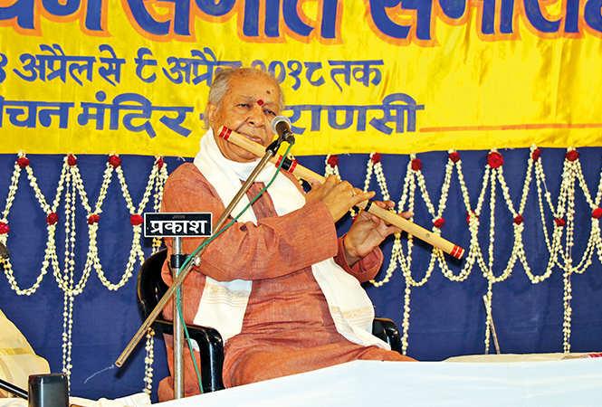Pt Hariprasad Chaurasia  (BCCL/ Unmesh Pandey and Arvind Kumar)