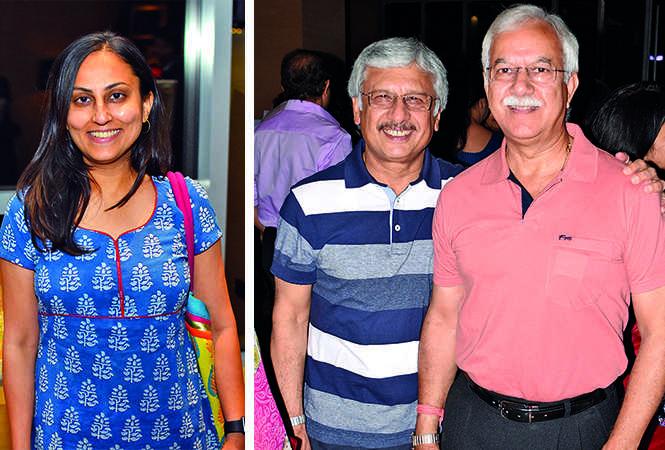 Kavita Chaturvedi (R) Kiron Chopra and Vijay Pratap Sahi  (BCCL/ Farhan Ahmad Siddiqui)