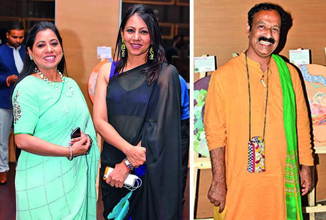 Pooja Chadha and Rajika Mittra (R) Rakesh Chandra  (BCCL/ Farhan Ahmad Siddiqui)