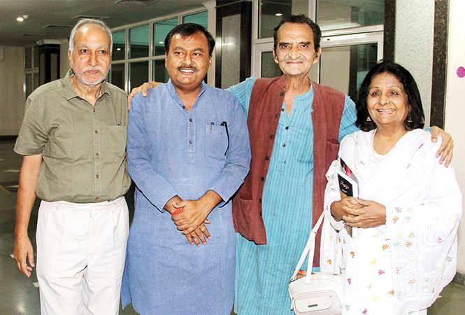 (L-R) Mohd Ahsan, Surendra Rajput, Shanne Naqvi and Sabra Habib (BCCL/ Aditya Yadav)