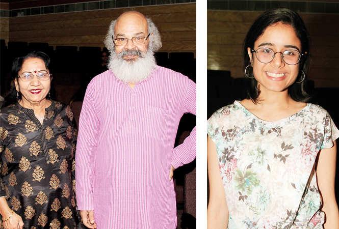 (L) Mridula Bhardwaj and Surya Mohan (R) Mitali (BCCL/ Aditya Yadav)