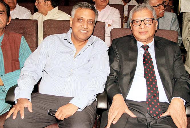 Jaideep Mathur and Shabihul Hasnain (BCCL/ Aditya Yadav)