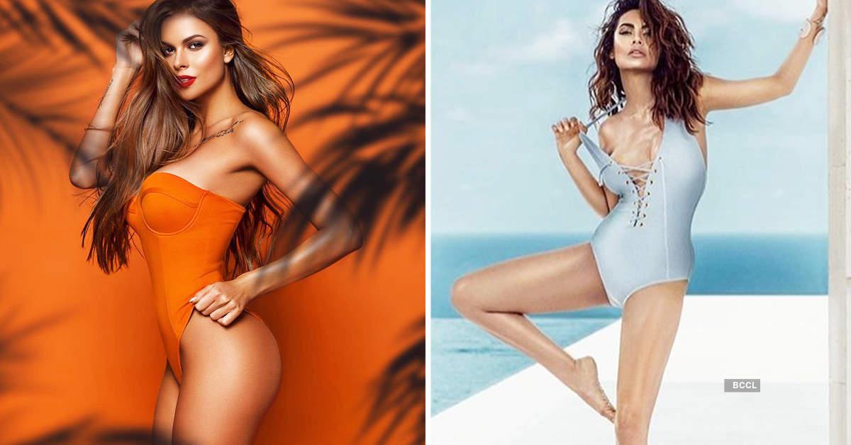 Captivating photoshoots of Esha Gupta's lookalike Viktoria Odintcova sweep the internet