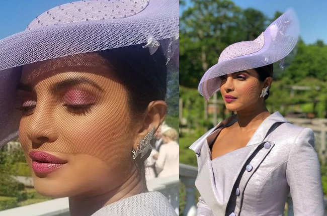 Priyanka Chopra at Royal Wedding 2018