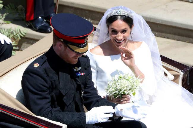 meghan markle weddding bridal bouqet