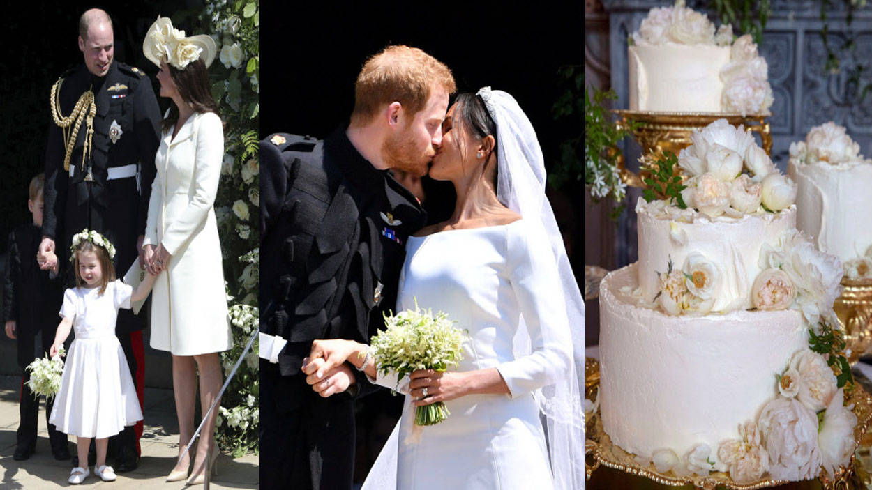 Royal wedding of Prince Harry and Meghan Markle: Best moments