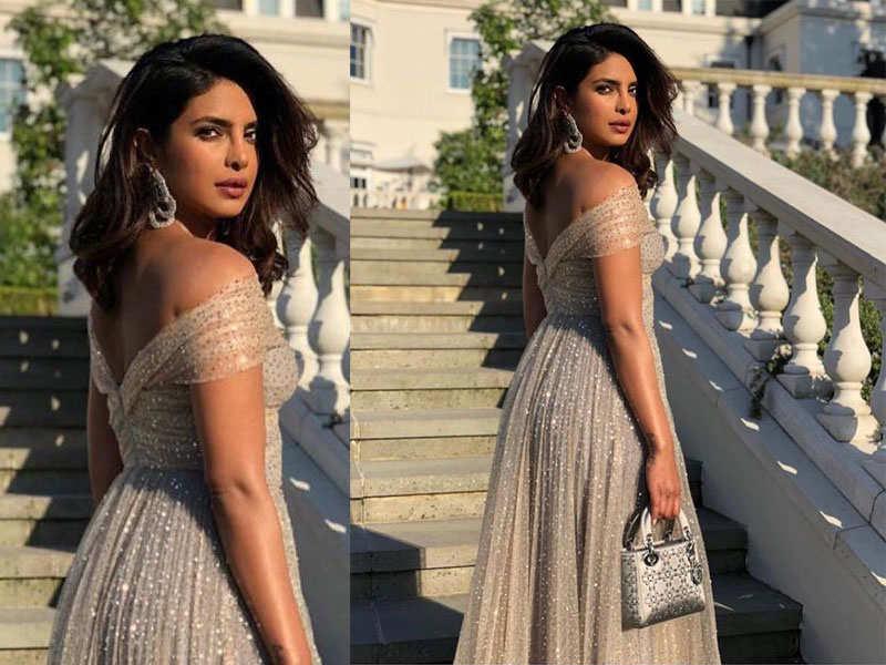 Priyanka Chopra Oozes Elegance As She Dresses Up For The Royal