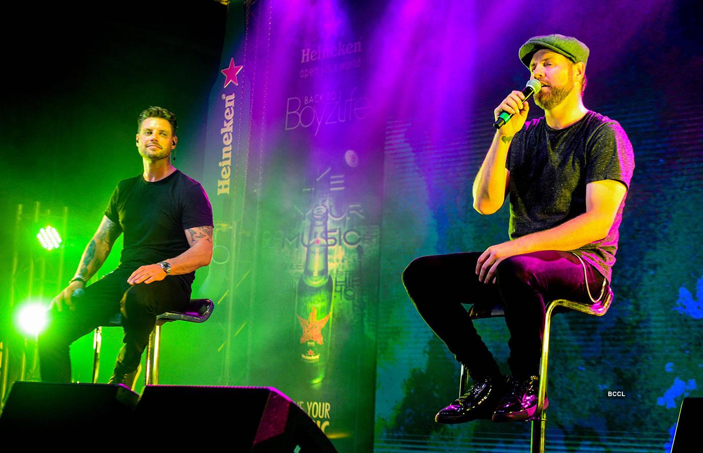 Boyzlife performs in Mumbai