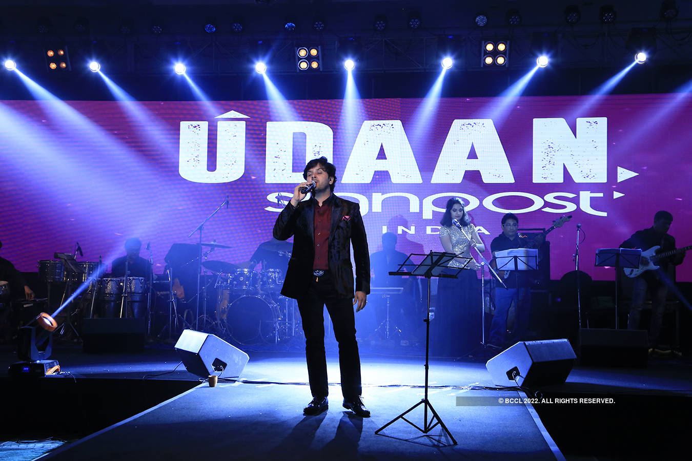 Javed Ali performs in the city