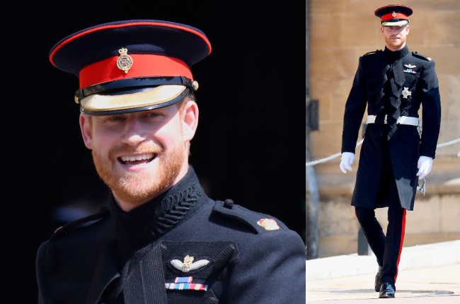 Prince Harry wedding beard
