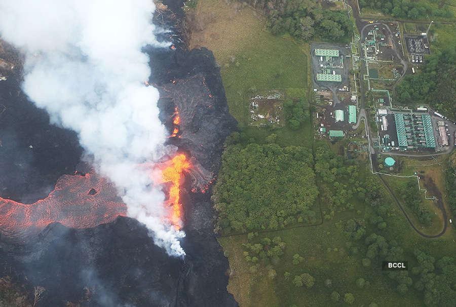 Hawaii volcano generates toxic gas plume