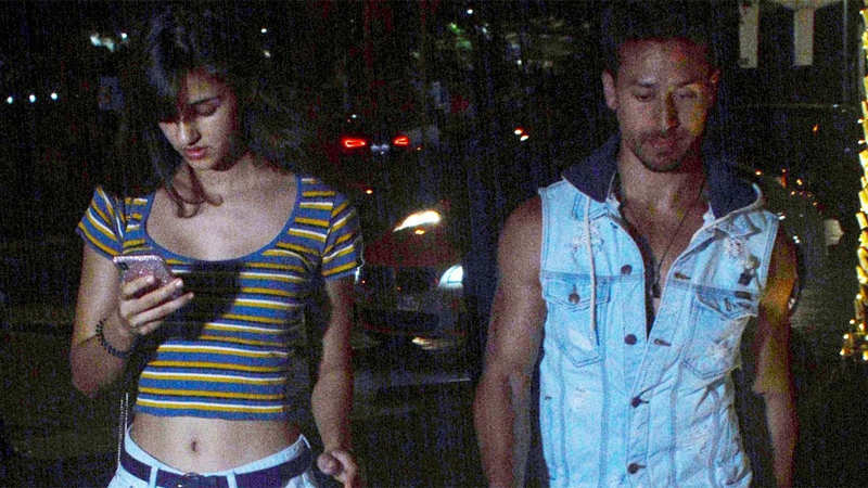 Tiger Shroff and Disha Patani head out for a dinner date