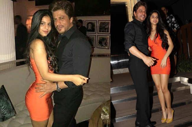 Suhana Khan orange dress