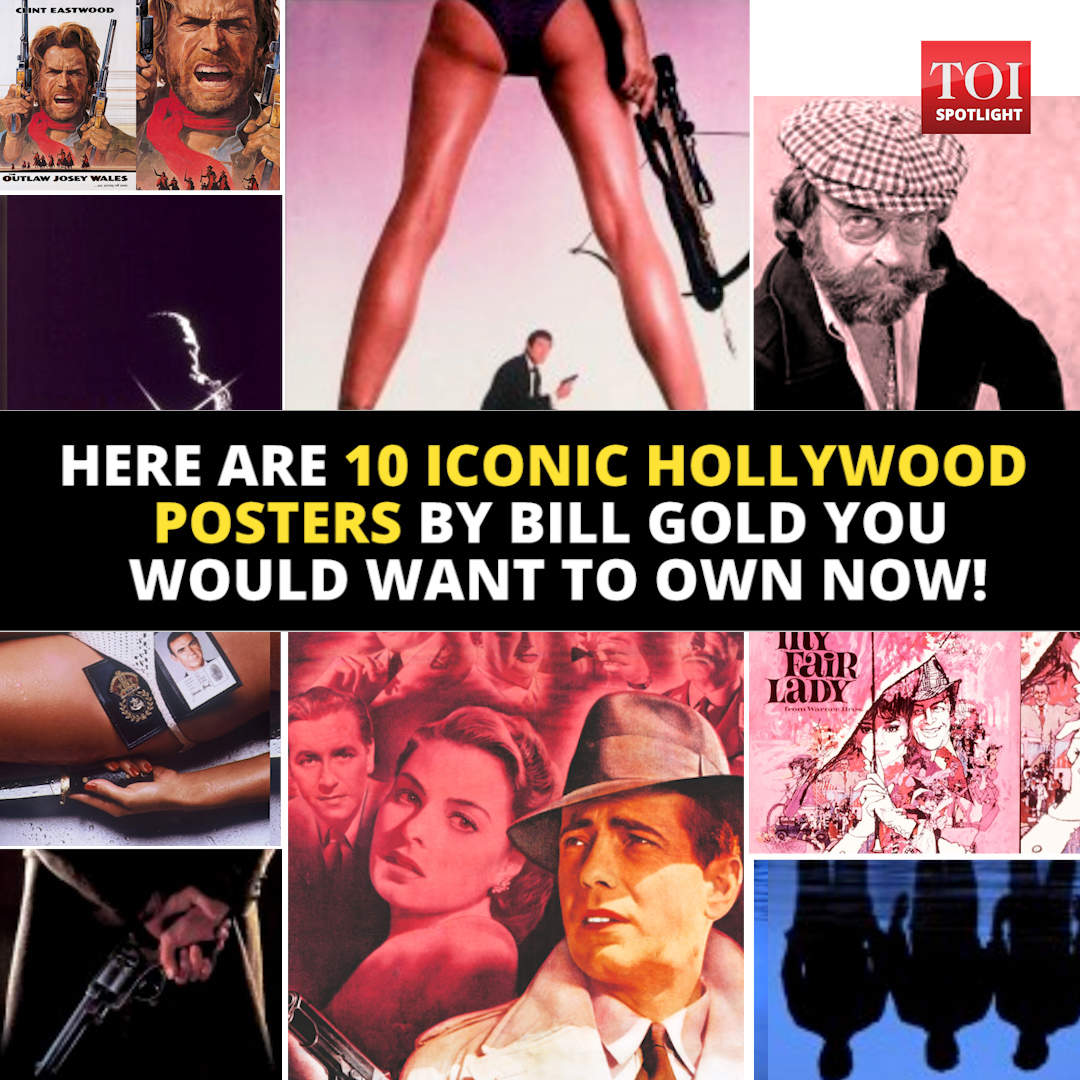 Bill Gold: Iconic Hollywood film poster creator Bill Gold
