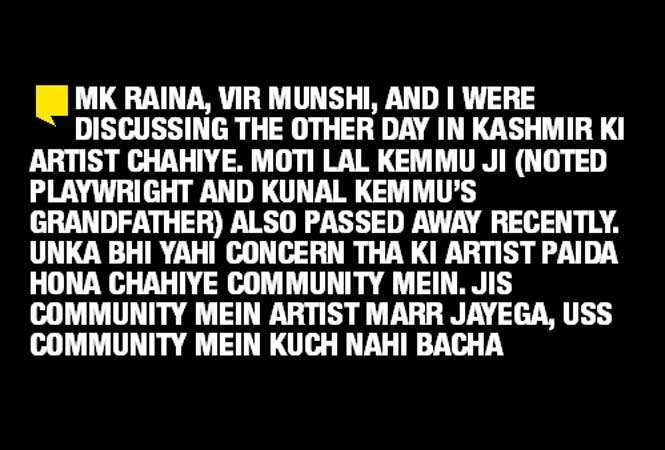 Raazi Actor Ashwath Bhatt Despite The Exodus My Relations With The
