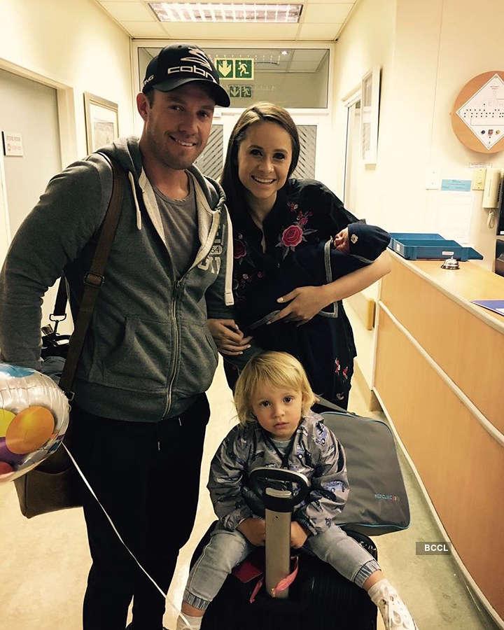 AB de Villiers personal photos: Legendary South African batsman AB de Villiers' life beyond cricket