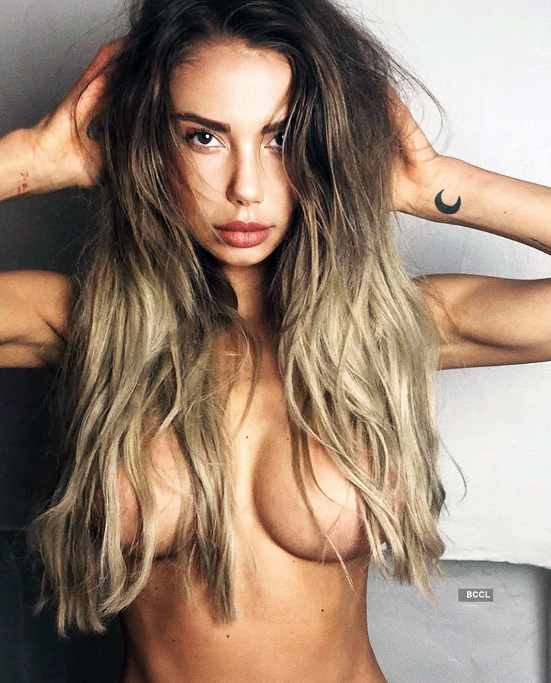 Justin Bieber's ex-fling Sahara Ray sets pulses racing with her steamy pictures