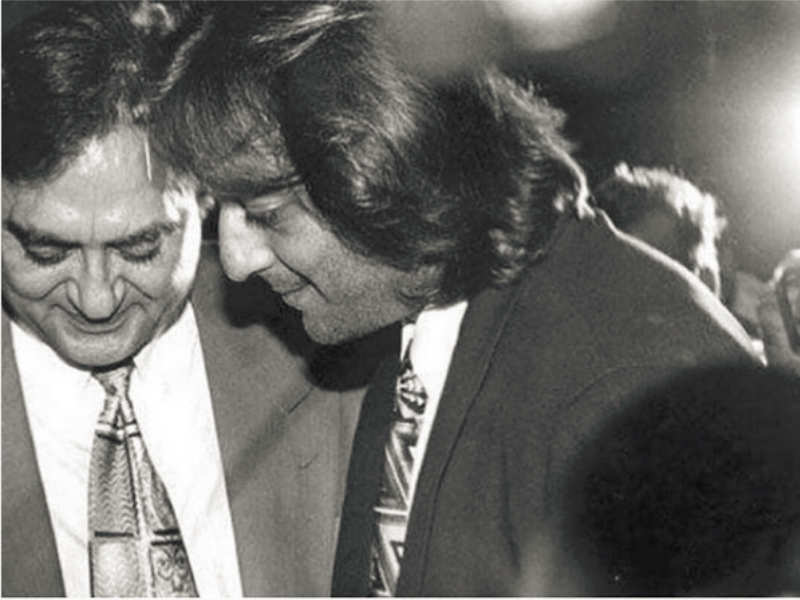 This throwback picture of Sanjay Dutt with Sunil Dutt will bring ...
