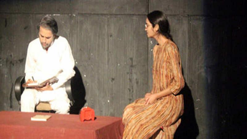 Short plays, Kamzor and Khuda Hafiz, staged at Ravindra Manch in Jaipur