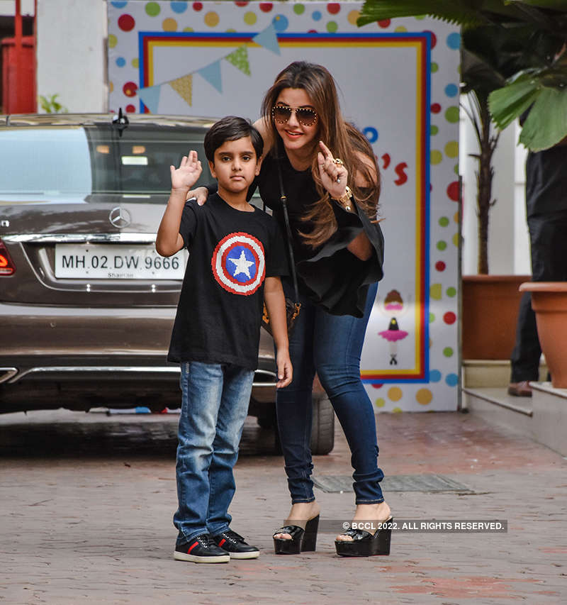 Inside pictures of star kids having fun at Shilpa Shetty's son's birthday party go viral