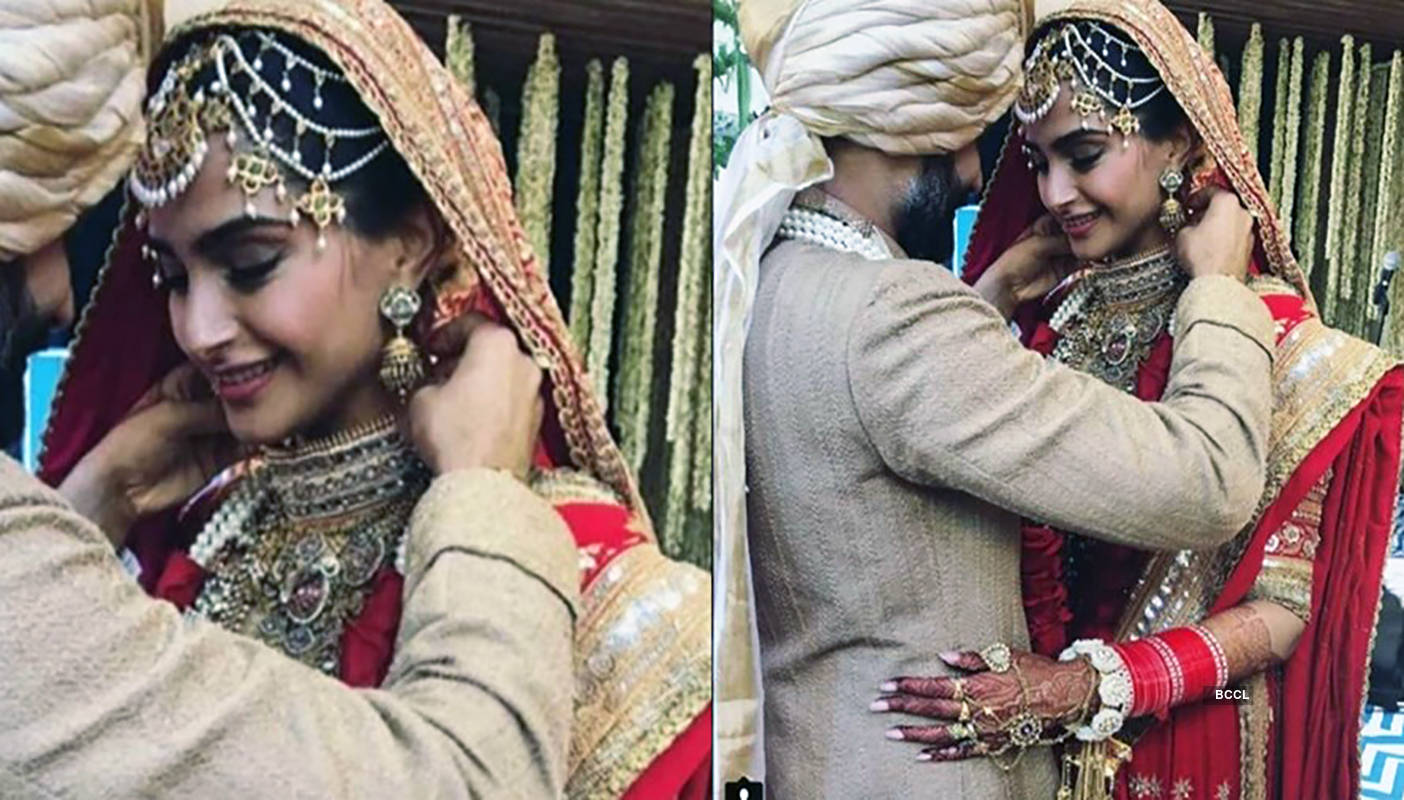 Sonam Kapoor sets a new trend, wears Mangalsutra on her wrist, see photos