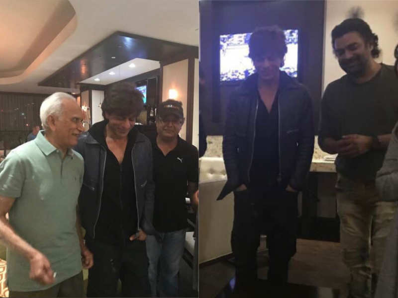 Shah Rukh Khan And R Madhavan S Latest Pictures From The Sets Of Zero Will Leave You Excited For Film