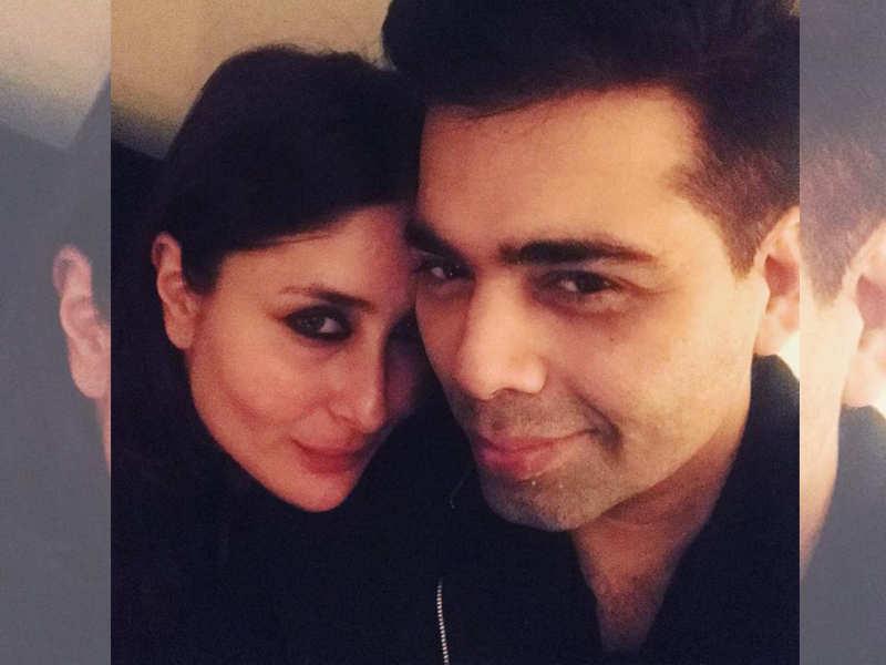 Image result for Kareena Kapoor and Karan  johar
