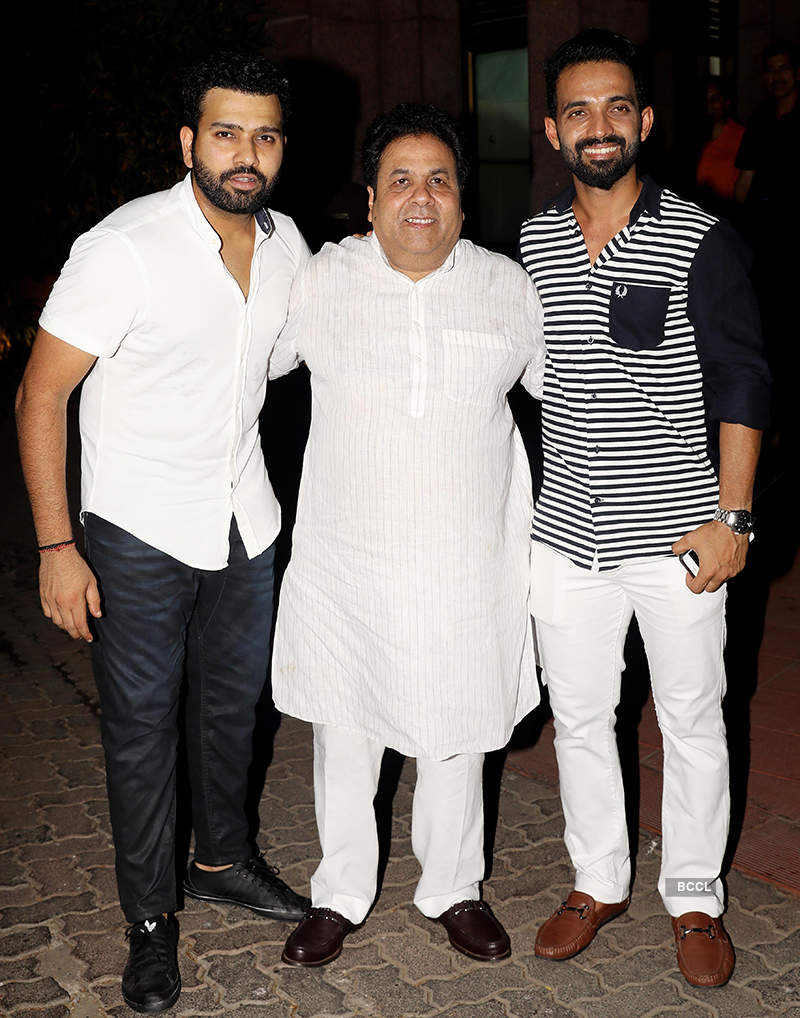 Celebs at Ravi Shastri's birthday party