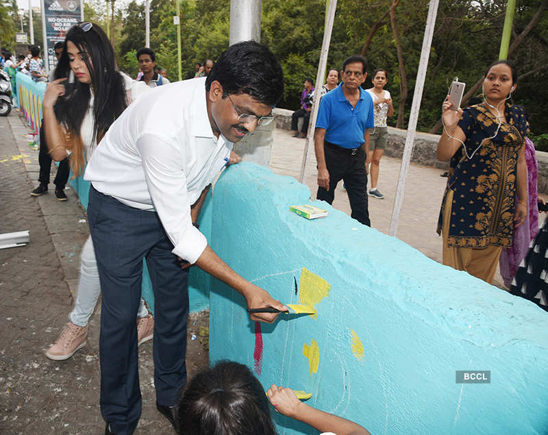 Celebs attend #BeatPlasticPollution campaign