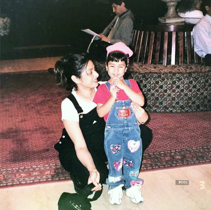 This painting of Sridevi shared by Janhvi Kapoor will surely make you emotional, see photos