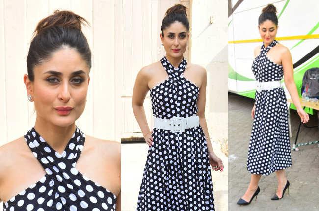 Kareena Kapoor polka dot
