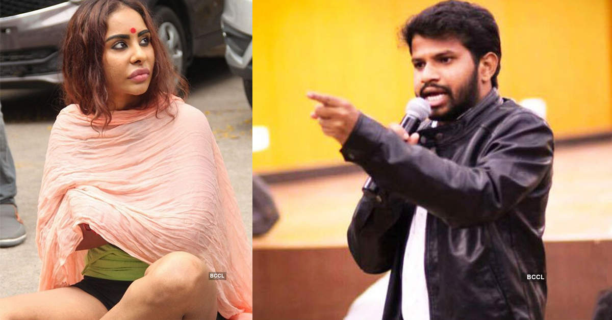 """I will teach him a lesson very soon"", Sri Reddy warns comedian Hyper Aadi"