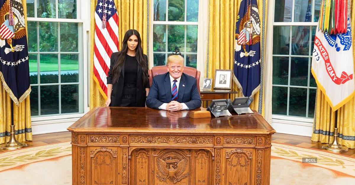 Kim Kardashian West meets US President Donald Trump, discusses prison reforms
