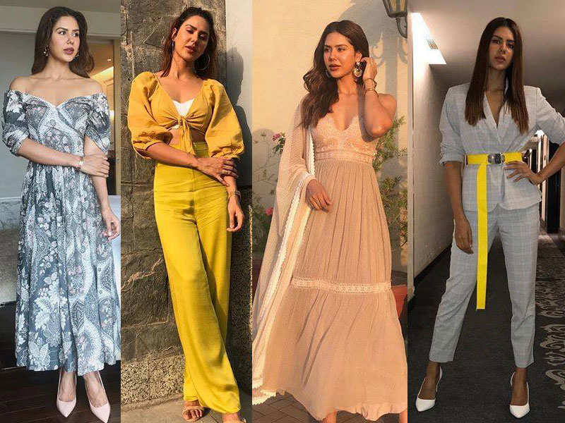 c9c0ac2c0f 'Carry On Jatta 2': Sonam Bajwa slays the style game during the films'  promotions