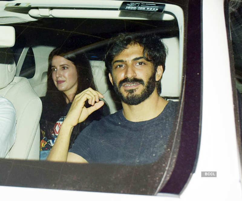 Isabelle Kaif and Harshvardhan Kapoor photos