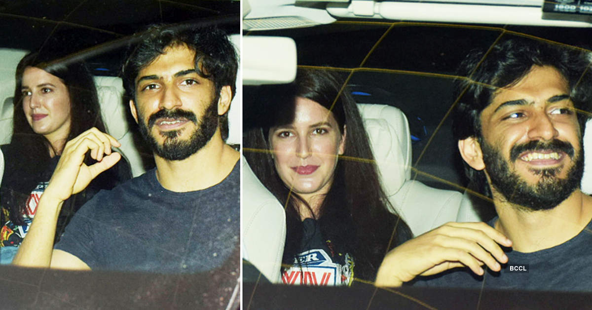 What's brewing between Harshvardhan Kapoor and Isabelle Kaif? See their viral pictures…